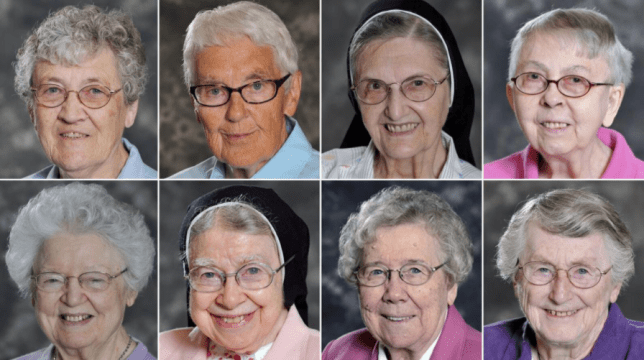 Eight nuns from same convent who died within a week of each other