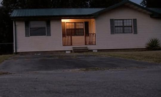 House where Hernandez died