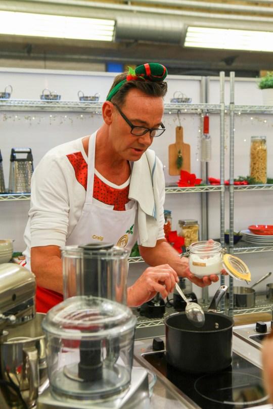 Craig Revel Horwood on Celebrity Christmas Cook-Off