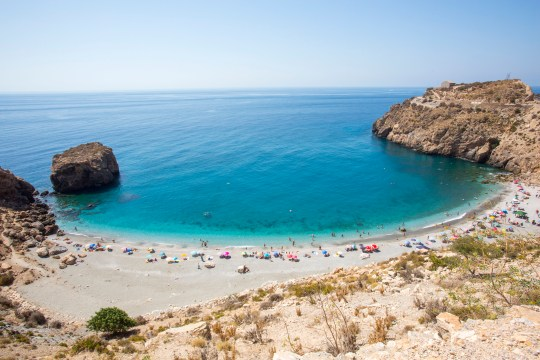 Whether you're looking for relaxation or adventure, Andalucia has 800km of coastline for watersports, swimming or sunbathing (Picture: Andalucia.org)