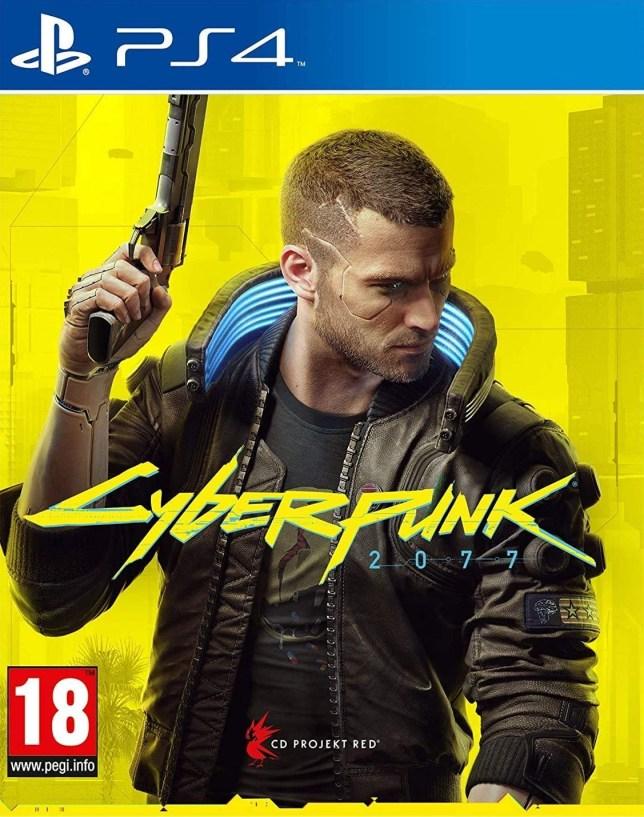 Cyberpunk 2077 PS4 box