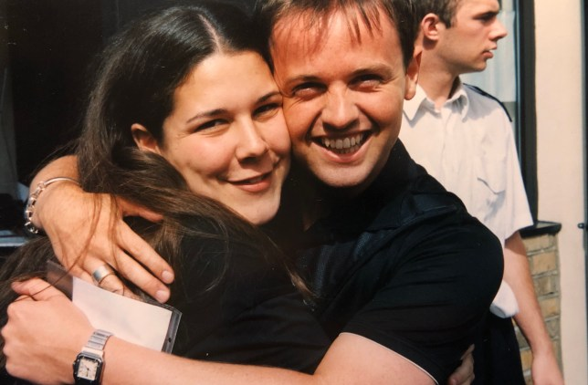 Angela Pearson and Declan Donnelly