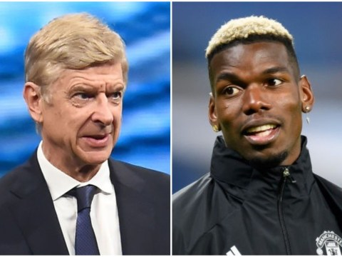 Arsene Wenger 'was sorry' for Paul Pogba during Manchester United's Champions League exit
