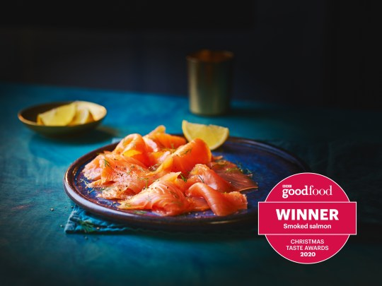 Break free from tired traditions and rustle up a glorious smoked salmon breakfast to kick off your Christmas Day (Picture: Co-op Irresistible Beech and Oak Smoked Salmon)