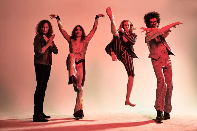 The Darkness are here to save Christmas
