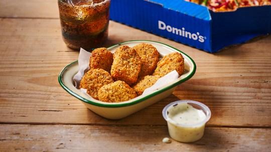 domino's vegan chicken nuggets