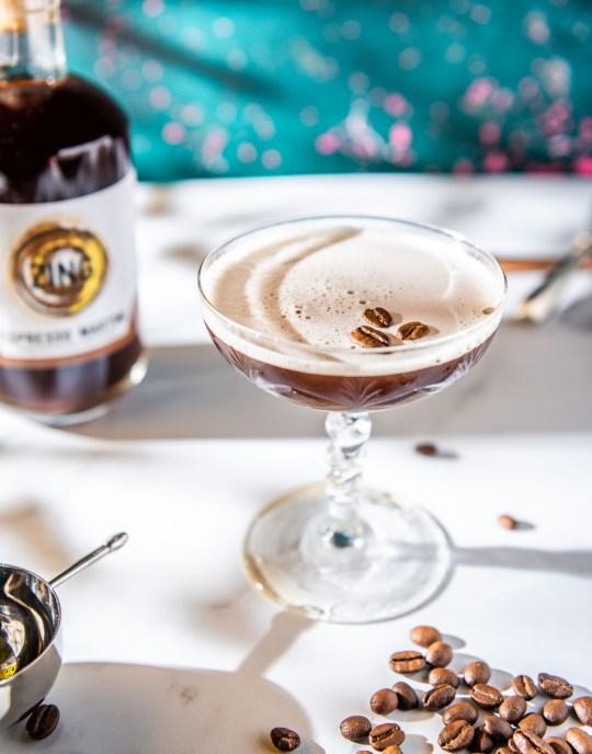 an espresso martini