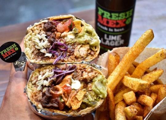 freshmex burrito