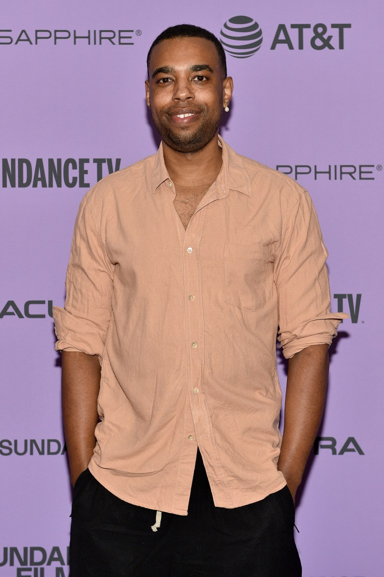 Remi Weekes at His House premiere