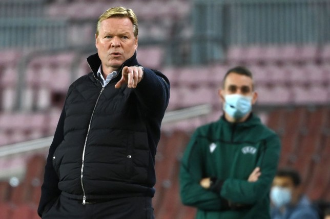 Ronald Koeman is desperate to keep Lionel Messi at Barcelona beyond the end of his current contract