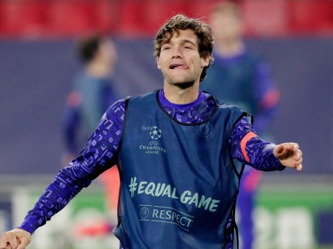 Diego Simeone tight-lipped on rumours Atletico Madrid will sign Chelsea left-back Marcos Alonso