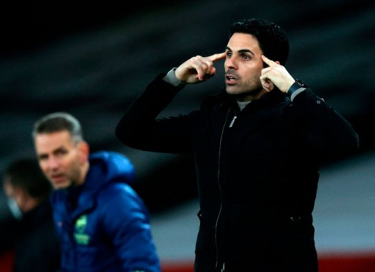 Mikel Arteta is struggling to reverse Arsenal's terrible form