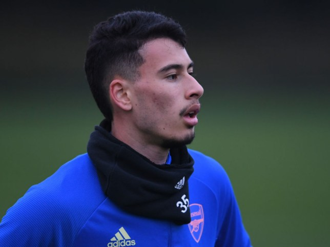 Gabriel Martinelli hasn't played for Arsenal this season due to injury