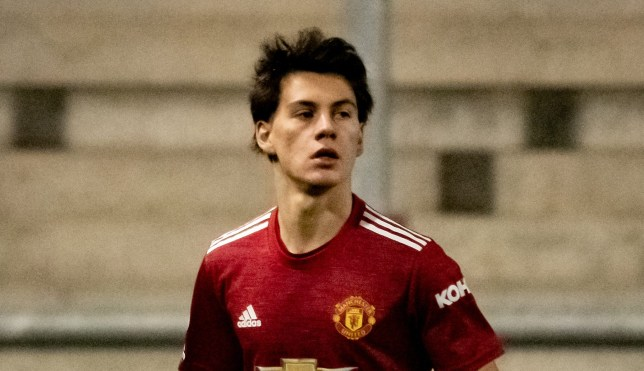 Facundo Pellistri has opened his account for Manchester United Under-23s