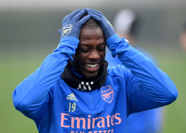 Arsenal record signing Nicolas Pepe has endured a difficult spell at the Emirates