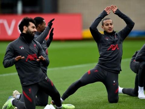 Thiago Alcantara, James Milner and Xherdan Shaqiri return to Liverpool training ahead of West Brom clash