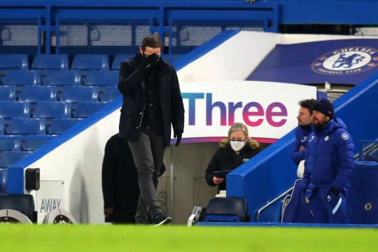 Lampard's side have been stuttering of late
