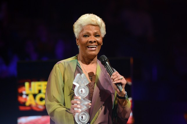 Dionne Warwick at MOBO Awards - Exclusive Show