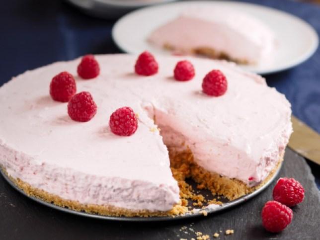 Irish cream cheese cake