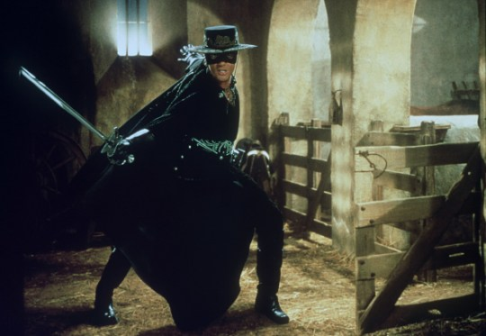 MARTIN CAMPBELL'S MOVIE 'THE MASK OF ZORRO'