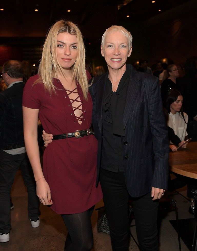 Annie Lennox with daughter Lola Lennox
