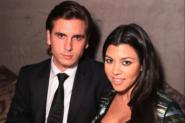 Kourtney Kardashian and Scott Disick at The Grand Opening Of Their Gourmet Bistro AnQi