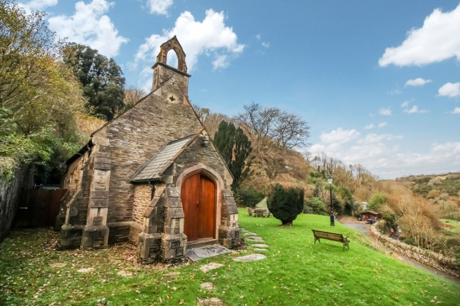 converted chapel home