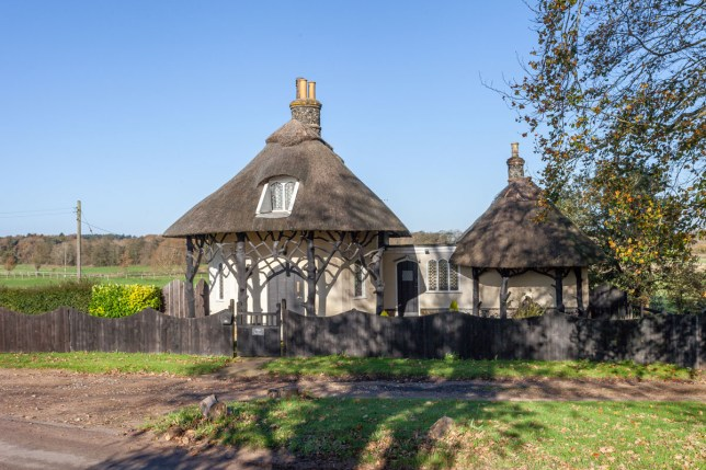 former countryside lodge house up for sale in norwich