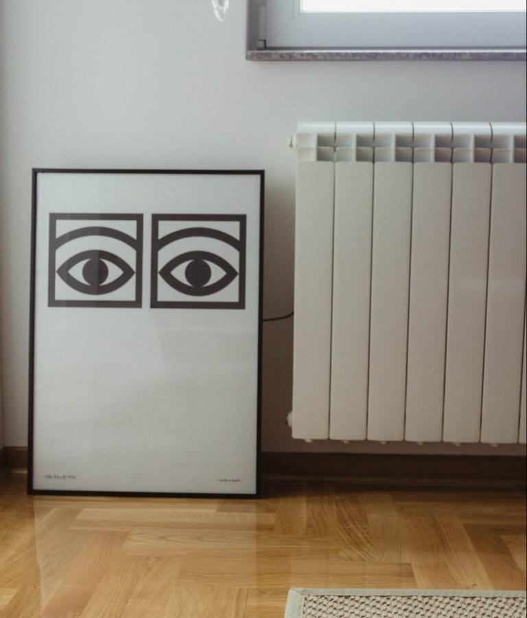 what i rent: dario's print and radiator