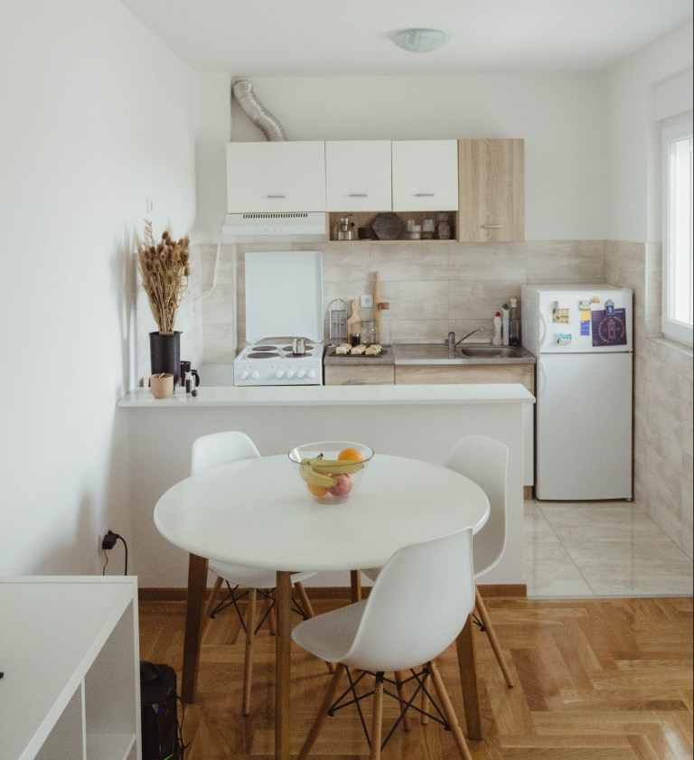 what i rent: Dario, Serbia: dining area and kitchen