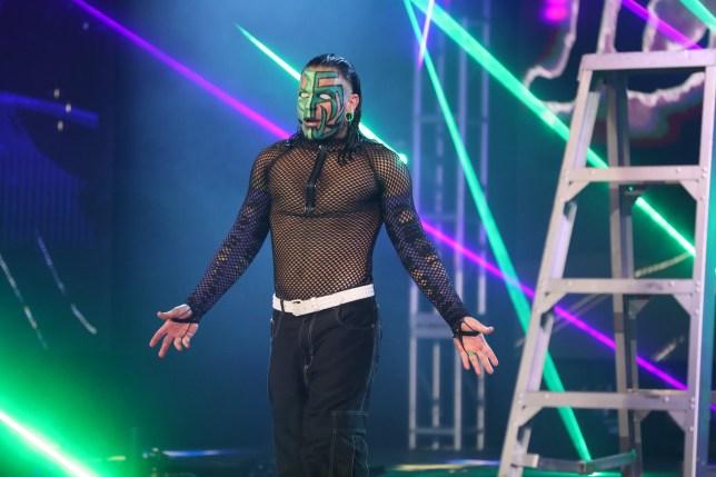 WWE superstar Jeff Hardy