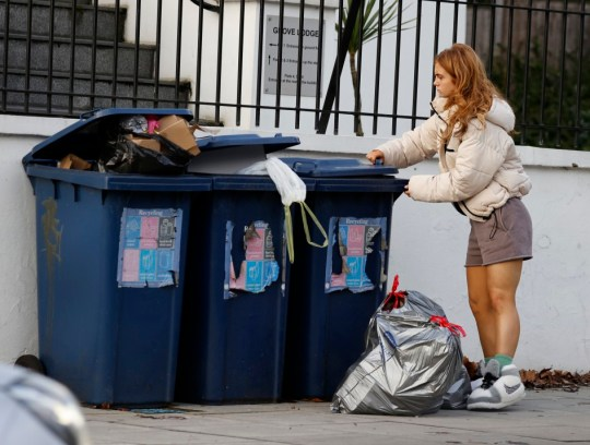Maisie Smith Clears out Flat