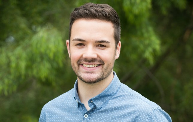 Nathan Borg plays Curtis Perkins on Neighbours