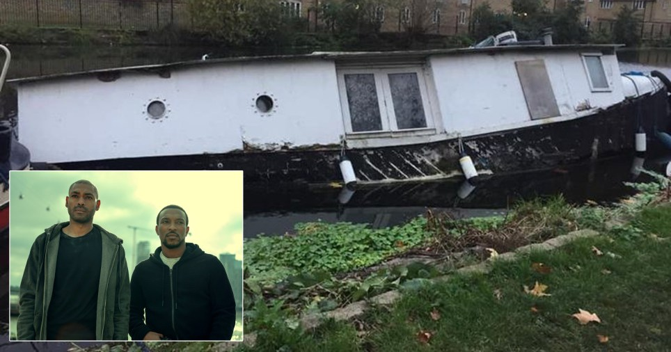 Man alleges he has been left homeless after his houseboat allegedly sank during filming by a production company (Credit: Anthony Freeman/Facebook )