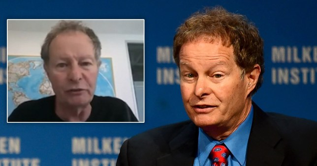 Whole Foods CEO and co-founder John Mackey on a Zoom call with the American Enterprise Institute in which he passionately defends capitalism as the 'greatest thing humanity has ever done'