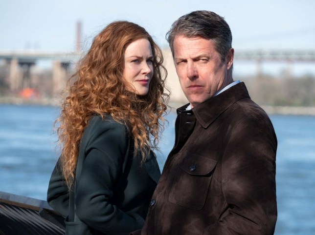 Nicole Kidman and Hugh Grant in The Undoing