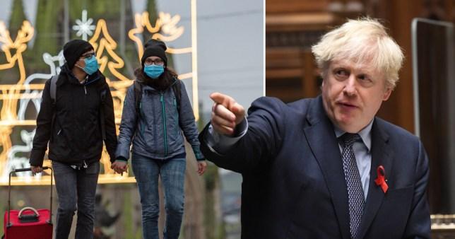 Boris Johnson's coronavirus three-tier system has been passed in the Commons.