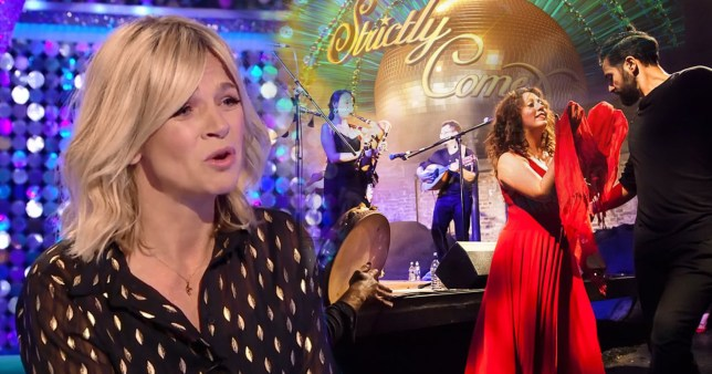 Zoe Ball on It Takes Two and band Amaraterra