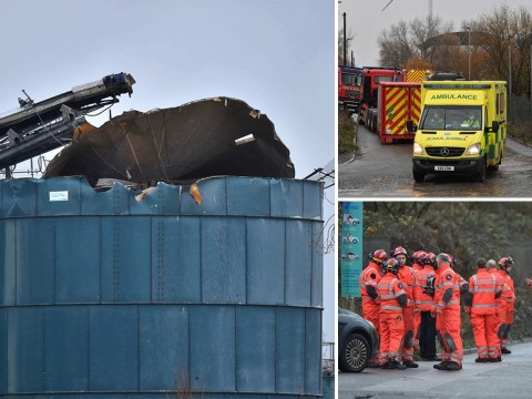 'Multiple casualties' after huge explosion at water plant in Bristol