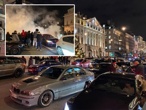 Supercar boy racers shut down streets in post-lockdown chaos