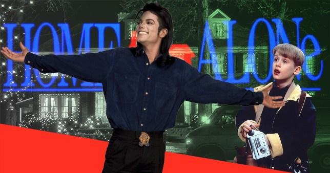 Home Alone Michael Jackson Macaulay Culkin