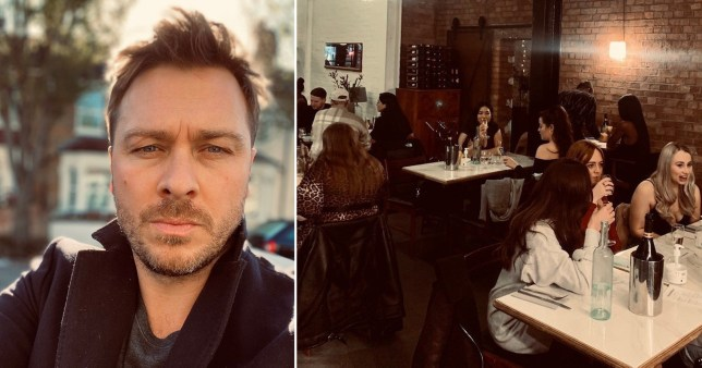 A restaurant owner has lost £42,000 worth of bookings and 'wasted' seven days worth of food after the Government plunged London into tier three lockdown