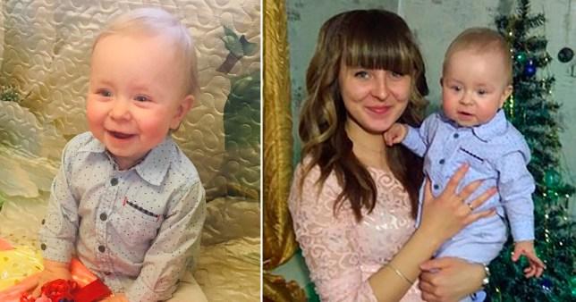 Un enfant de 2 ans, `` étranglé à mort et jeté au four par ses grands-parents ''