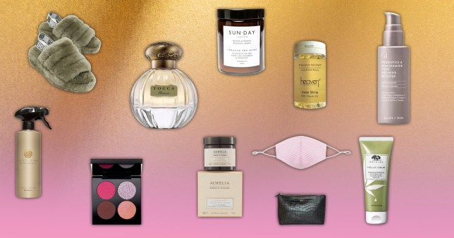 A selection of products featured in the article