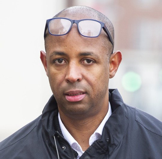 Hyde News & Pictures Ltd. 05/12/2019 *************** Picture by Vagner Vidal *************** Respected senior NHS consultant gynaecologist jailed for 14 months after police discovered he had been secretly recording his student nurse girlfriend with a camera hidden in his spectacles. Dr Jomo Mathurine (Pictured), 49, had told his 19-year-old lover he needed the glasses to read, so she had been unaware that he was covertly filming her having sex with him, judge told. Mathurine had set up other secret cameras, one hidden in a key fob, around her student accommodation in Reading, Berks., so he could film her from multiple angles. He threatened to tell her NHS tutors if she said anything, judge at Reading Crown Court hears. See copy HNPdoc