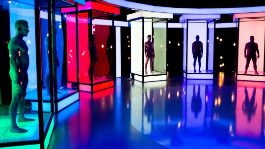 Naked Attraction TV show pods