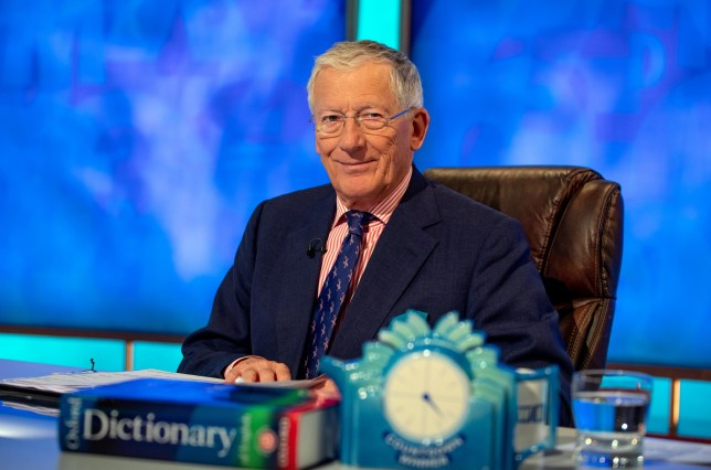Nick Hewer on Channel 4's Countdown