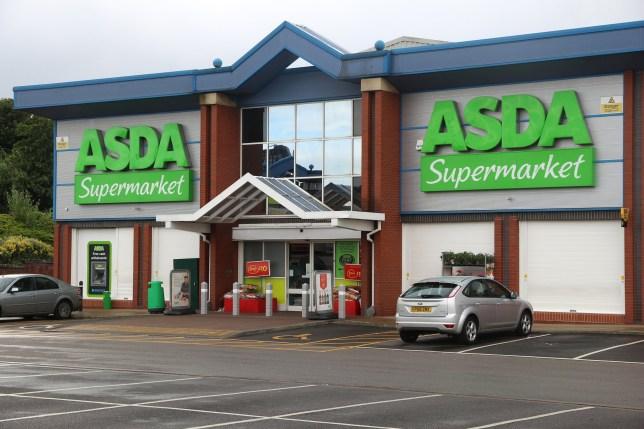 ASDA Supermarket in Sheffield, Yorkshire