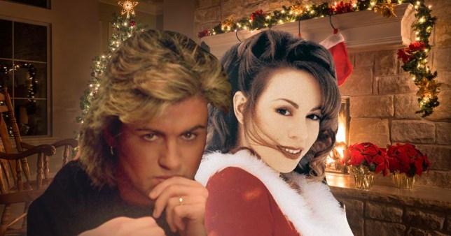 George Michael and Mariah Carey