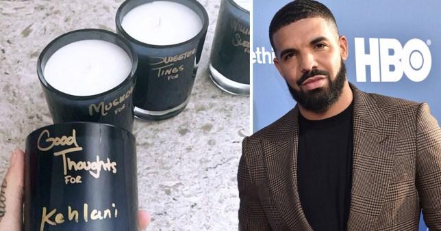 Drake's candles